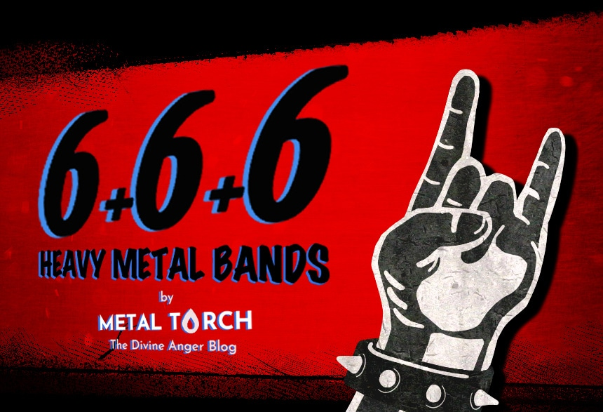 6+6+6 heavy metal bands: blog cover image