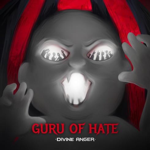 Divine Anger - CD cover guru of hate EP